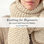 Some easy knitting patterns to begin with