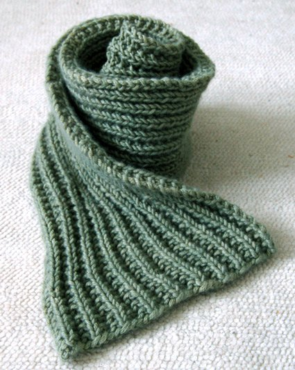 Easy Mistake Stitch Scarf   Purl Soho