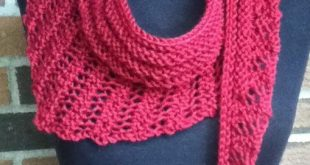 Free Knitting Pattern for Gallatin Scarf | Projects to Knit
