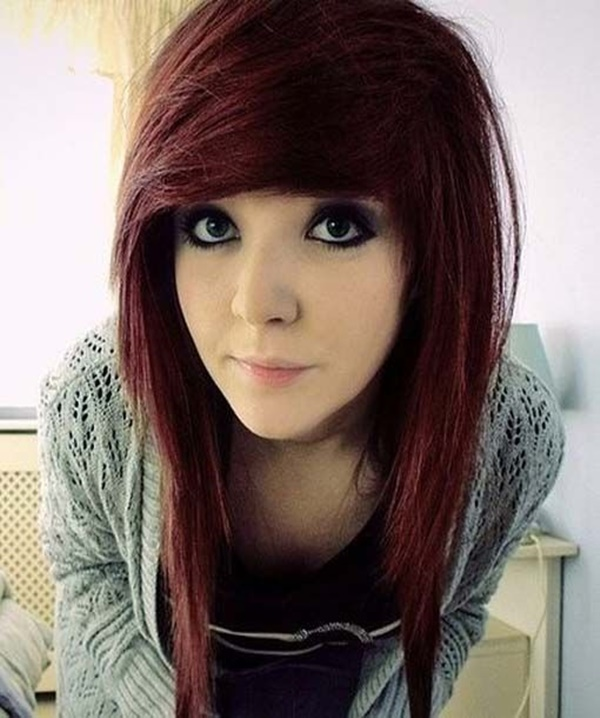 155 Best Emo Hairstyles For Girls