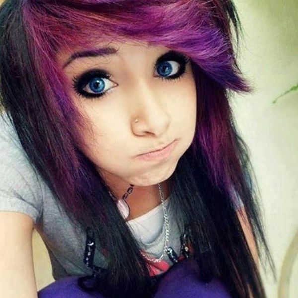 Emo Hairstyles for Girls, best haircuts for Emo Girl.