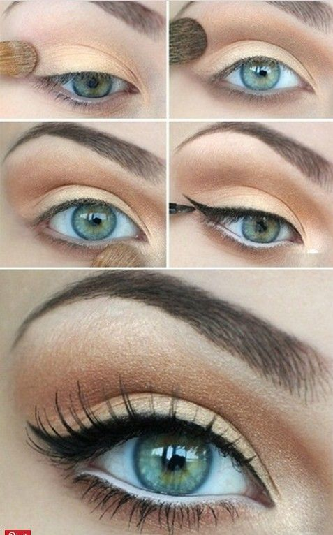 20 Amazing Makeup Tutorials for Blue Eyes | Makeup | Pinterest