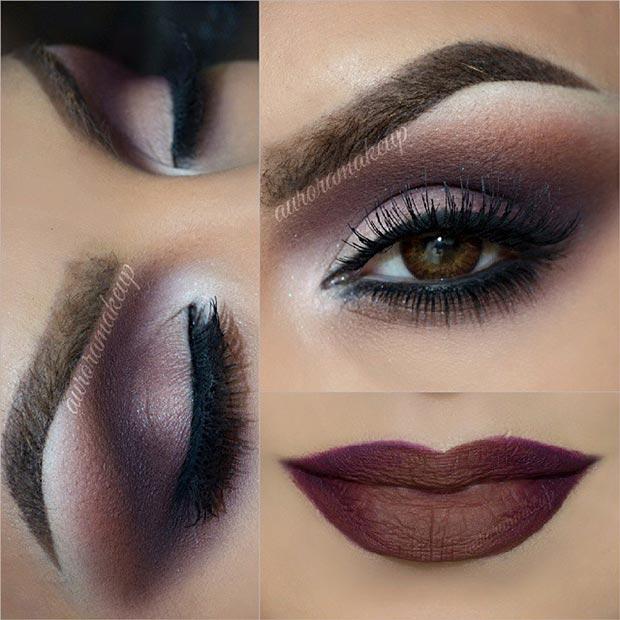 40 Eye Makeup Looks for Brown Eyes | StayGlam
