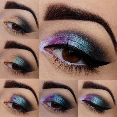 30 Glamorous Eye Makeup Ideas for Dramatic Look - Style Motivation