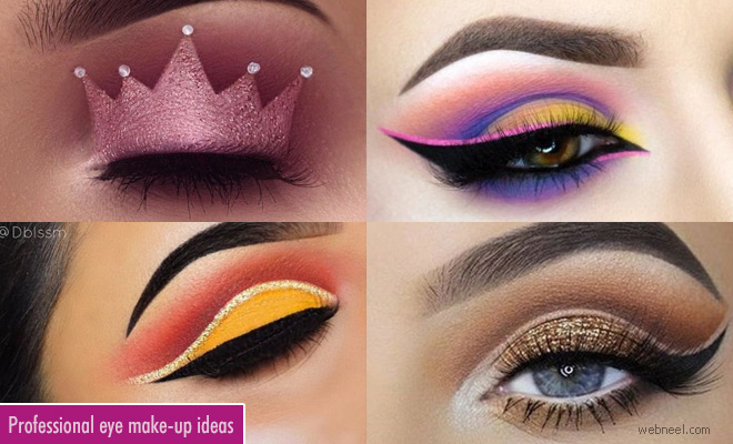 Professional and Glamorous Eye Makeup ideas for dramatic look