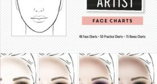 Makeup Artist Face Charts (The Beauty Studio Collection): Gina M