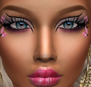 Second Life Marketplace - .:H.F Tonya Pink Fantasy Makeup (Catwa