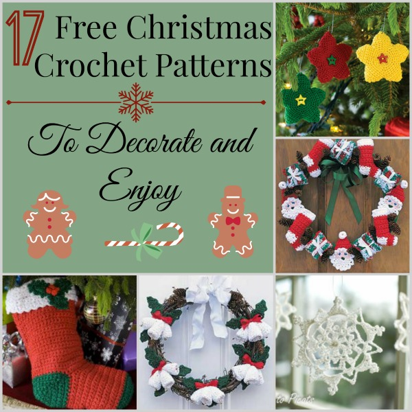 17 Free Christmas Crochet Patterns to Decorate and Enjoy