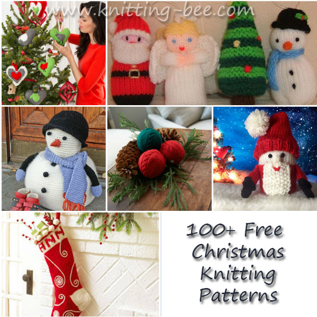 Importance christmas knitting patterns - Crochet and Knitting