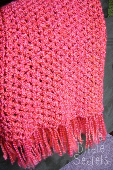Free Pattern] Quick And Easy Crochet Afghan