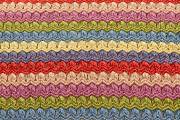 Photo Tutorial] Free Crochet Afghan Patterns-Vintage Fan Ripple