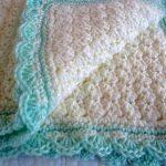 Crocheting a baby blanket gift using free   crochet baby blanket patterns