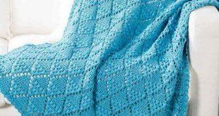 Lace Throw Crochet Pattern Free. | crochet | Pinterest | Crochet