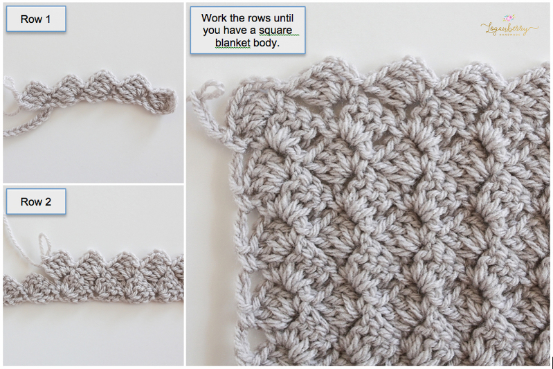 Where to find free crochet blanket patterns and how to make