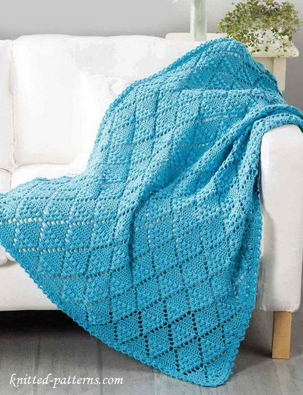 Where to find free crochet blanket   patterns and how to make them