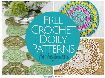 13 Free Crochet Doily Patterns for Beginners | FaveCrafts.com