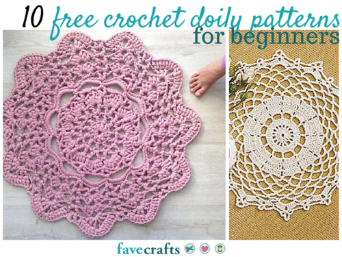 13 Free Crochet Doily Patterns for Beginners | New Craft Ideas