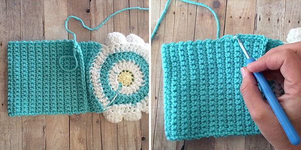 Little Girl's Wildflower Purse (Free Pattern) | Little Monkeys Crochet