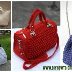 Styling it up with one of these free   crochet purse patterns