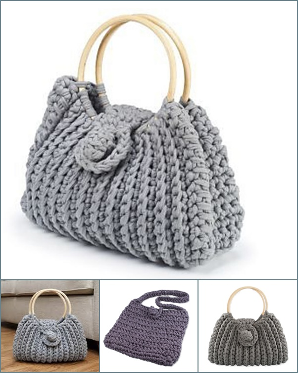 Wonderful DIY Crochet Harriet Bag with Free Pattern