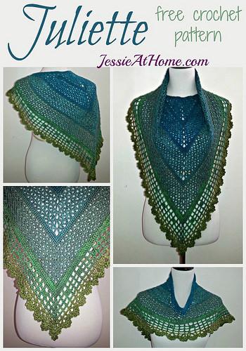 Juliette Shawl | Free Crochet Pattern | Jessie At Home