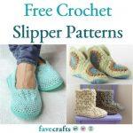 What you can do with free crochet slipper   patterns