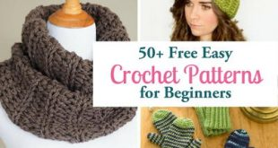81 Free Easy Crochet Patterns & Help for Beginners | FaveCrafts.com