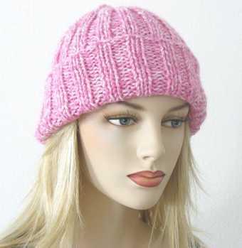 Free Knitting Pattern: Toni Ribbed Hat