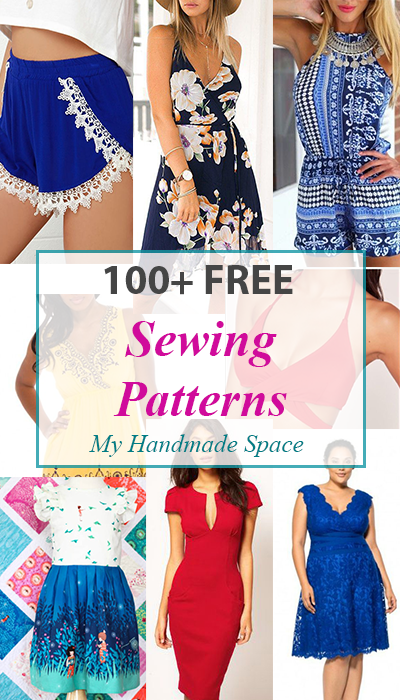 Stylish affordable free sewing patterns   for old wardrobes