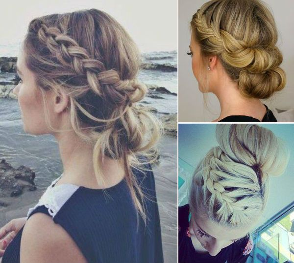 French Braid Hairstyles, Pictures of Elegant French Braid