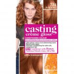 Use stunning, natural looking ginger hair   dye