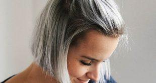 23 Short Grey Hairstyles