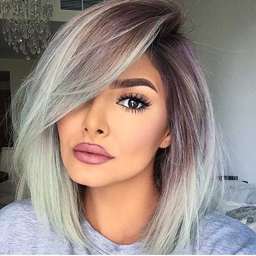 30+ Nice Short Grey Hairstyles