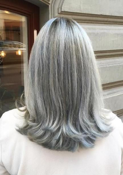 60 Gorgeous Gray Hair Styles | Gray hairDon't care! Let it go