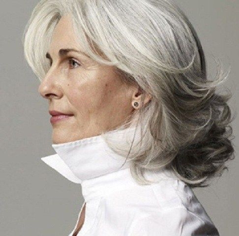 60 Gorgeous Gray Hair Styles | hairstyles | Pinterest | Hair styles
