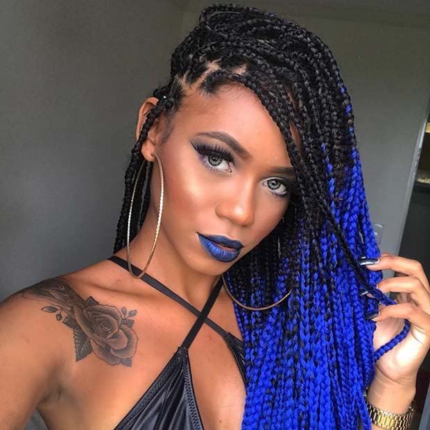 25 Best Black Braided Hairstyles to Copy in 2018 | StayGlam