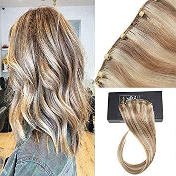 Amazon.com : Sunny Micro Bead Weft Hair Extensions(EZE Weft)16