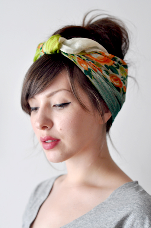Boost your style game with unique hair   scarves