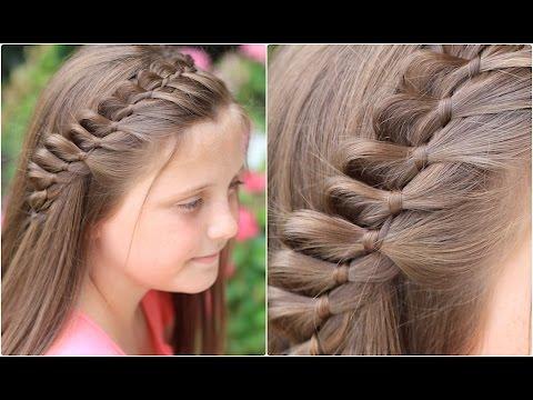 4-Strand French Braid Pinback | Cute Girls Hairstyles - YouTube