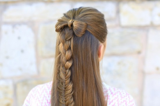 15 Cute Girl Hairstyles From Ordinary to Awesome | Make and Takes
