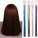 Hair Tinsel For Harmless Hair Styling