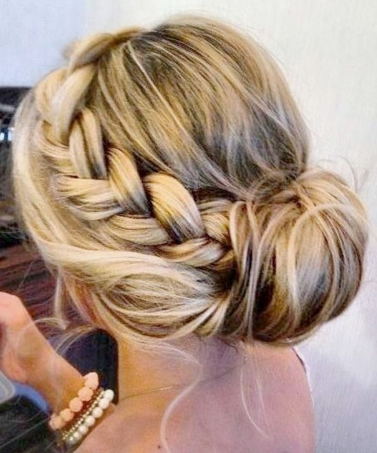 20 Pretty Braided Updo Hairstyles | Tangled | Hair styles, Hair
