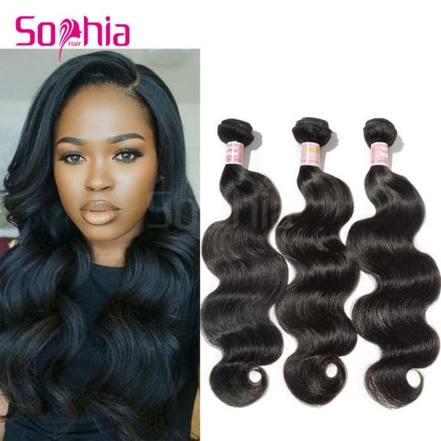 Sophia Hair Products Brazilian Virgin Hair Body Wave,Cheap Brazilian