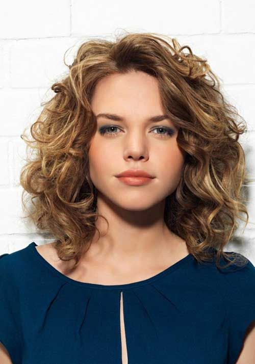 60+ Curly Hairstyles To Look Youthful Yet Flattering | My Style