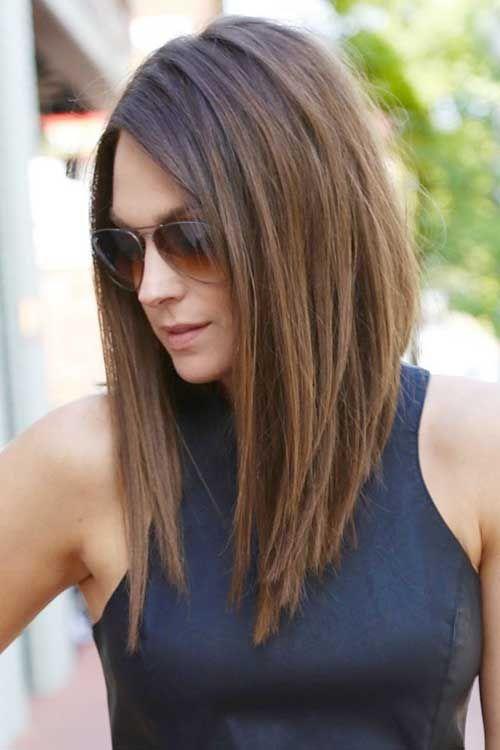 20 Best Angled Haircuts | Hair style | Pinterest | Hair styles, Hair