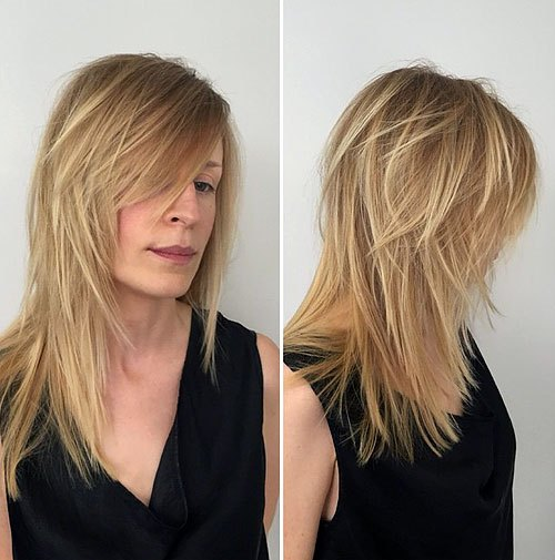 40 Long Hairstyles and Haircuts for Fine Hair with an Illusion of