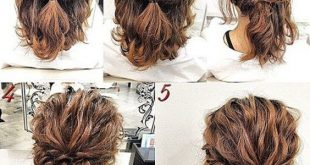 Updo Hairstyles for Short Hair | Hair | Pinterest | Short hair updo