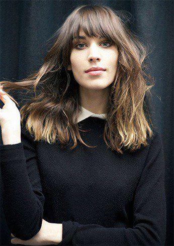 Hair #Bangs #Trend Is Ruling 2019 | hairstyle | Pinterest