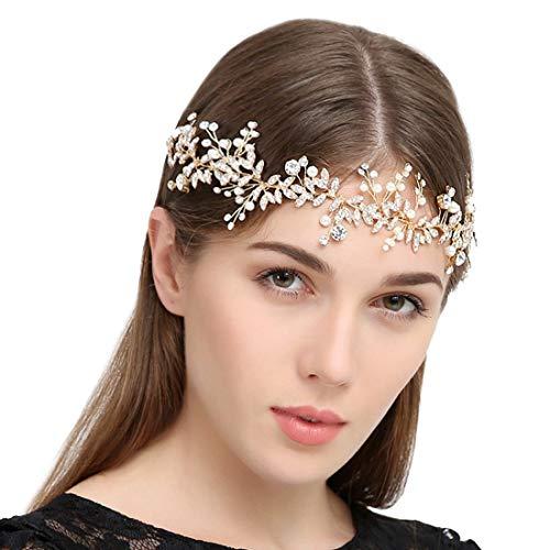 Handmade Crystal Rhinestones Wedding Head Band Bridal Hair