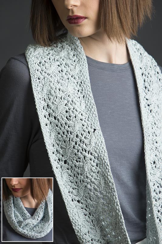 Infinity Scarf Knitting Patterns- In the Loop Knitting